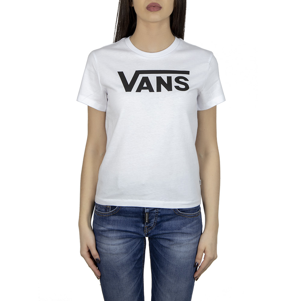 39f7507240 Vans WM Flying V Crew Tee A3UP4WHT1 | Cords & Buttons